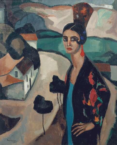 Spanish Woman, 1925 (oil on canvas)
