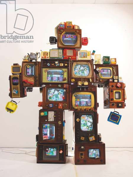 TV is Kitsch, 1996 (mixed media)