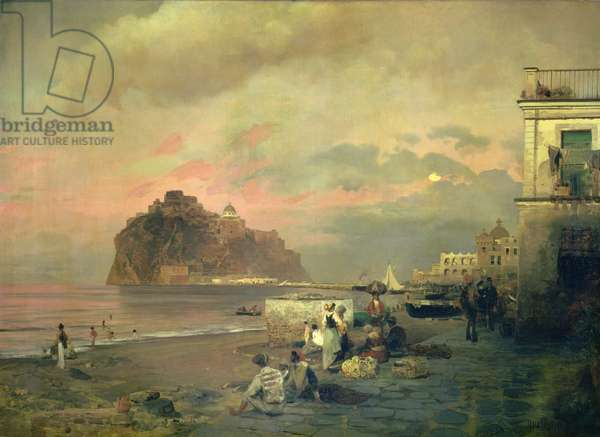 Ischia, 1884 (oil on canvas)