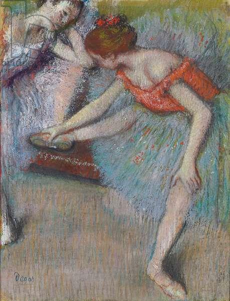 Dancers; Danseuses, c.1896 (pastel on paper)