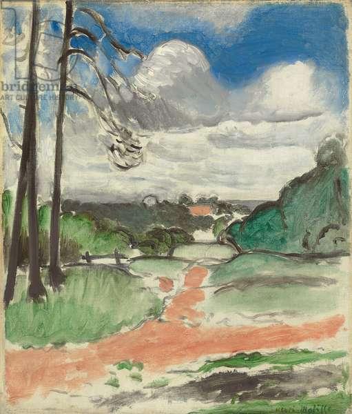 Chalais-Meudon, 1917 (oil on canvas)