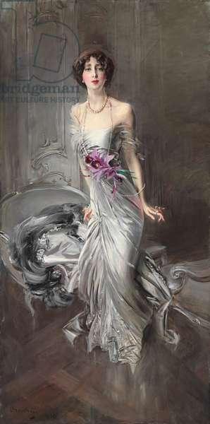 Portrait of Madame Eugene Doyen; Ritratto di Madame Eugene Doyen, 1910 (oil on canvas)