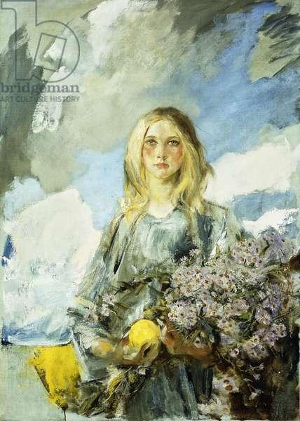 Michaelmas, (oil on canvas)
