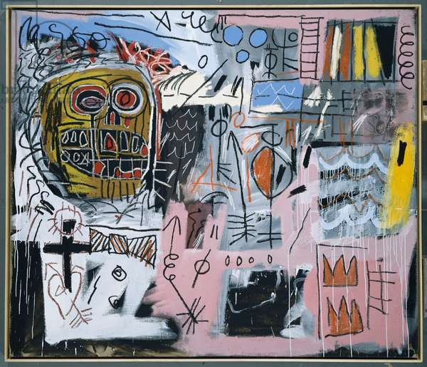 Untitled, 1982 (acrylic and oilstick on canvas)