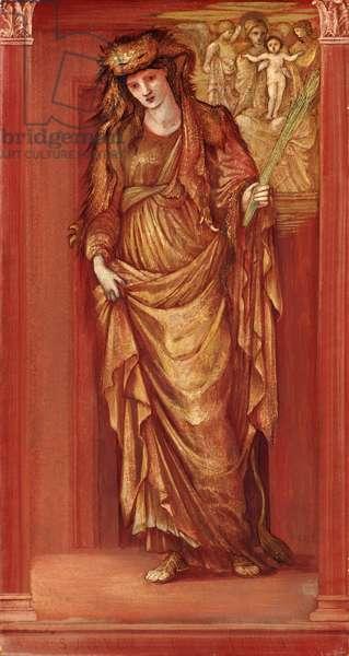 Sibylla Tiburtina, 1877 (b/c on paper)