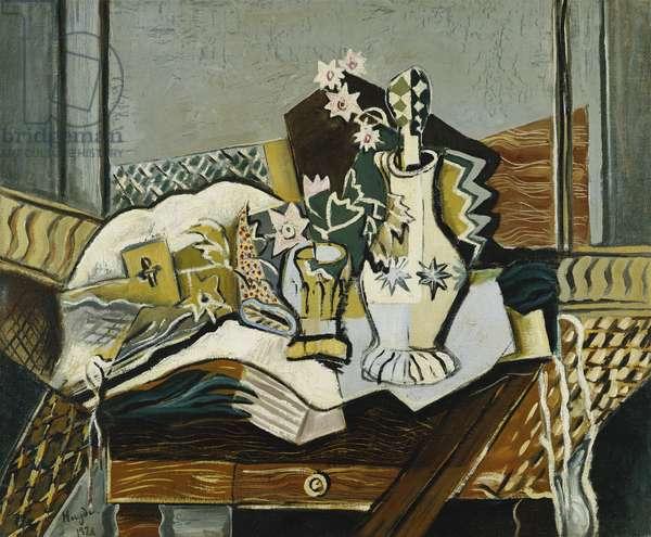 Still Life with Jug; Nature Morte a la Carafe, 1920 (oil on canvas)