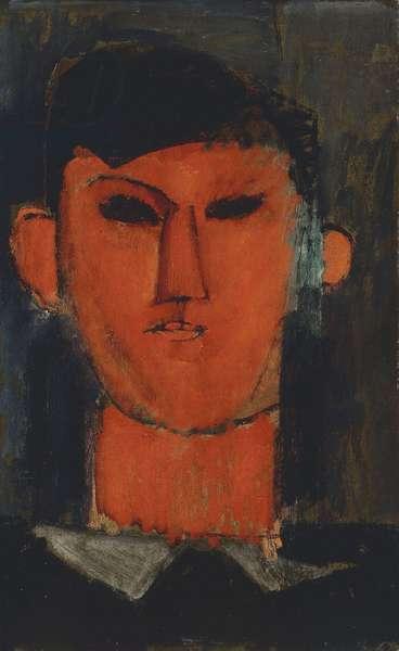 Portrait of Picasso; Ritratto di Picasso, 1915 (oil on paper)