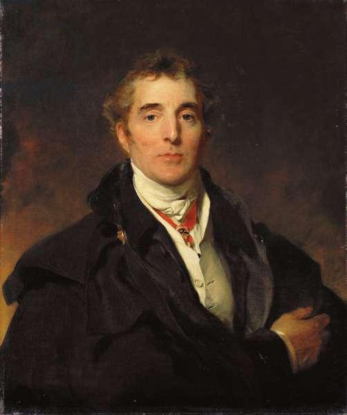 Portrait of Arthur Wellesley, 1st Duke of Wellington, c.1821 (oil on canvas)