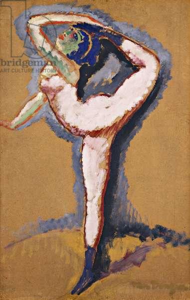 Acrobat; L'Acrobate, c.1905 (oil on board laid on panel)