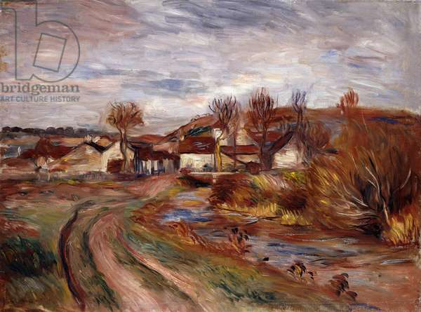 Normandy Countryside; Paysage en Normandie, 1895 (oil on canvas)