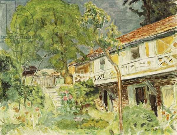 Summer Sky (My Caravan, Vernonnet), 1915 (oil on canvas)