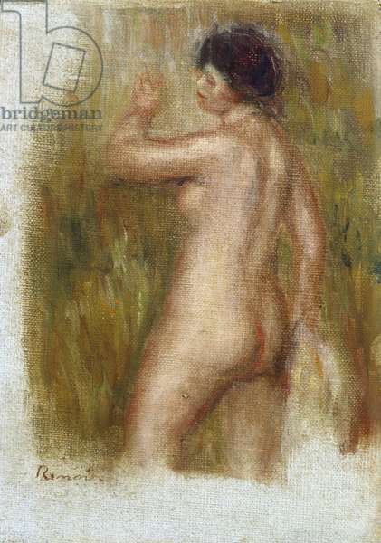 The Bather (oil on canvas laid down on panel)