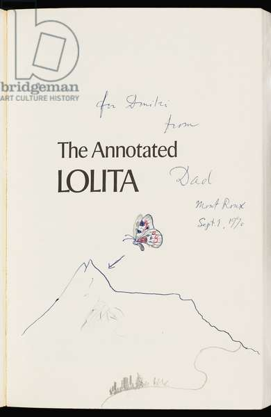 The Annotated Lolita. New York, Toronto: McGraw-Hill Book Company, 1970 (print)