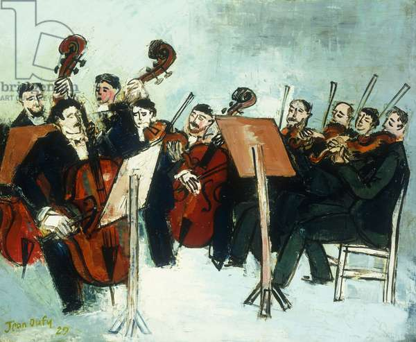 The Orchestra; L'Orchestre, 1929 (oil on canvas)
