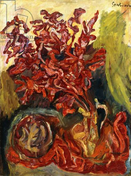 The Gladiolus, c.1919 (oil on canvas)