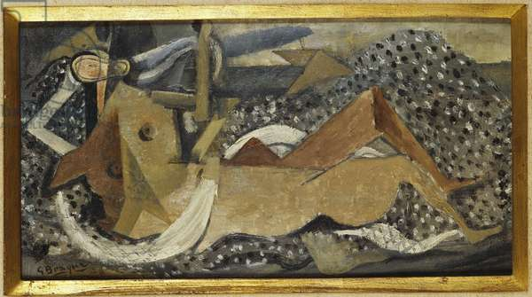 Bather, 1929 (oil on canvas)