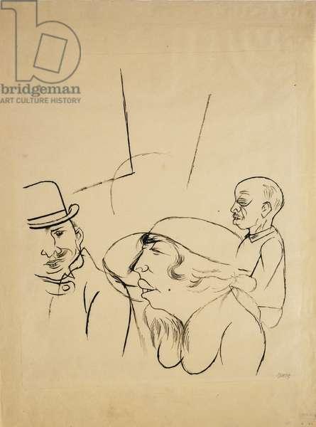 Nutte, 1921 (pen and black ink on paper)