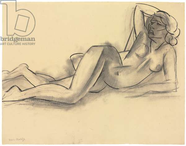 Great Nude, 1929 (charcoal on paper)