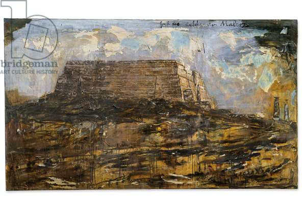 Tomb of the Unknown Painter, 1983 (oil, emulsion, shellac & latex on canvas)