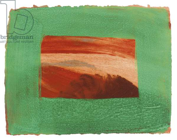 After Degas (Heenk 81), 1990-91 (intaglio print with carborundum in colours & hand colouring)