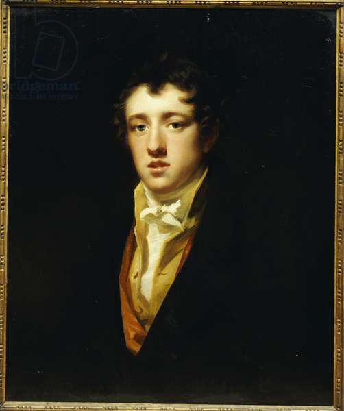Portrait of Sir Andrew Agnew of Lochnaw, Seventh Baronet (oil on canvas)