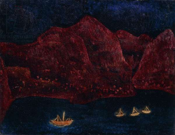 Southern Coastal Evening, 1925 (oil on canvas)