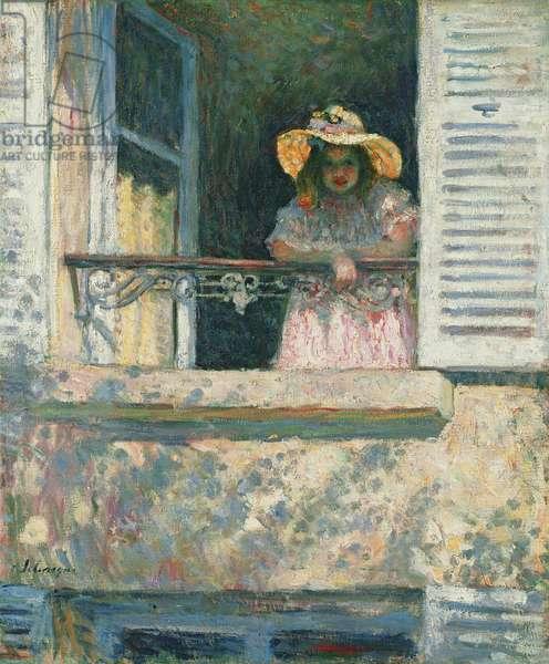 Girl at the Window; Fillette a la Fenetre, c.1903-1904 (oil on canvas)