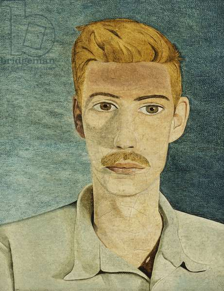 Portrait of a Man, c.1947 (oil on canvas)