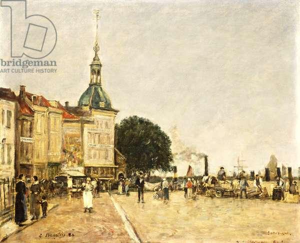 Dordrecht, La Ville, 1884 (oil on canvas)