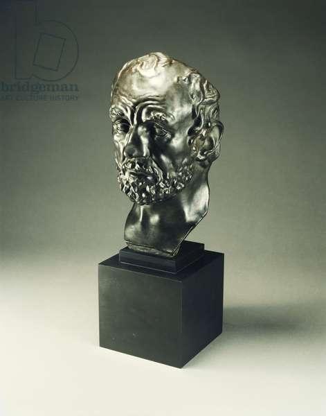 Man with the Broken Nose; L'Homme au Nez Casse, 1864 (bronze)