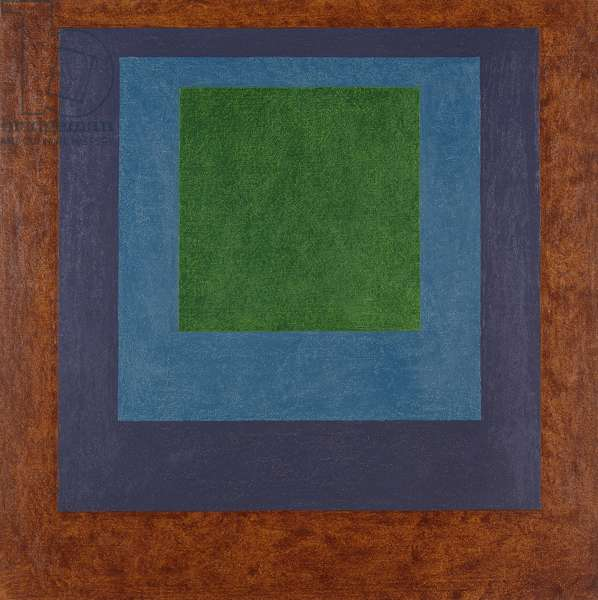 Hommage to the Square; Last Year, 1964 (oil on masonite)