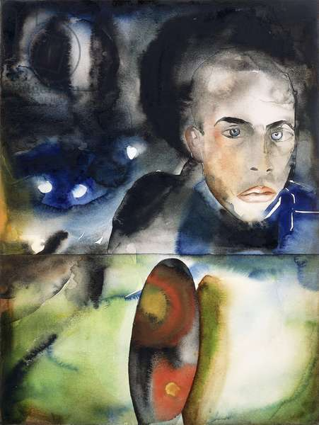 Untitled, 1990 (watercolour on paper)