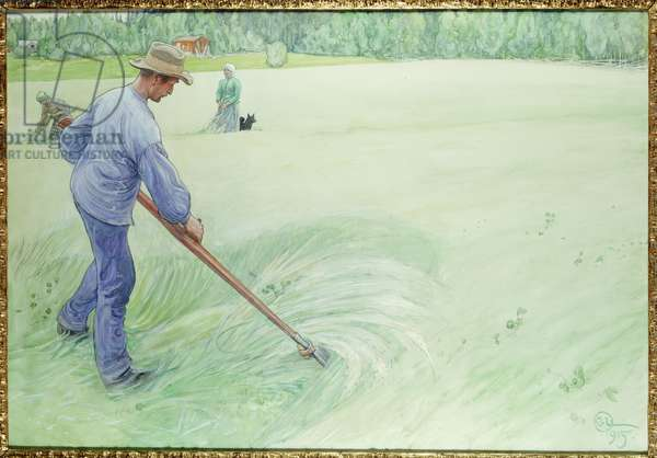 Harvesters, 1915 (pencil, pen & ink and bodycolour on paper)