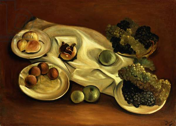 Still Life With Fruit; Nature Morte aux Fruits, 1928 (oil on canvas)