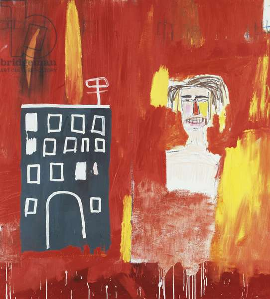 Hallop, 1983 (acrylic and oilstick on canvas)