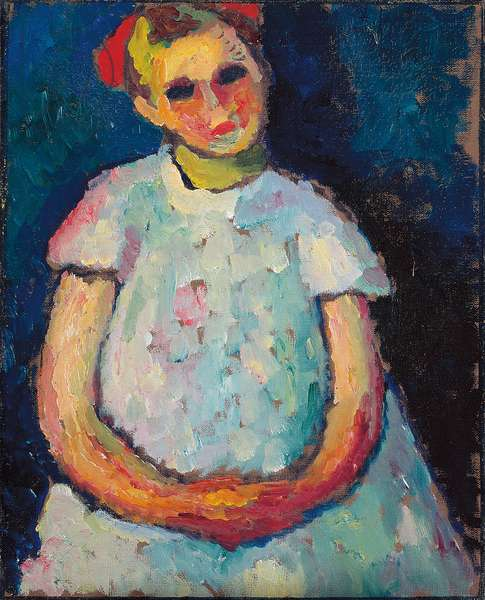 Child with Folded Hands, c. 1909 (oil on canvas)