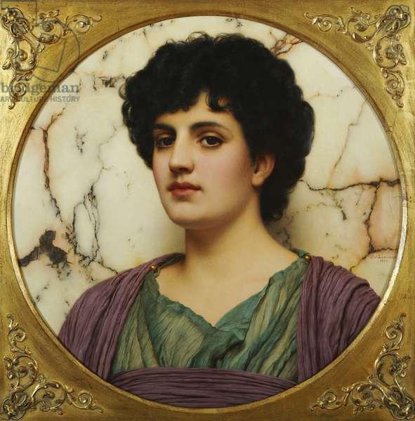 Lucilia, 1917 (oil on canvas)