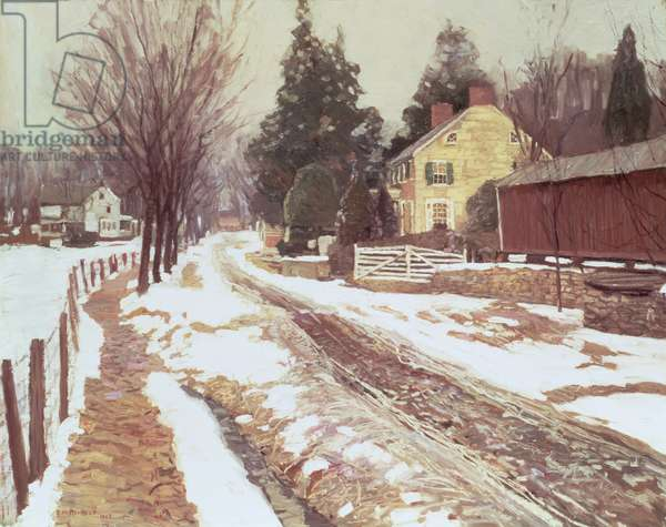 Road to the Village, 1908 (oil on canvas)