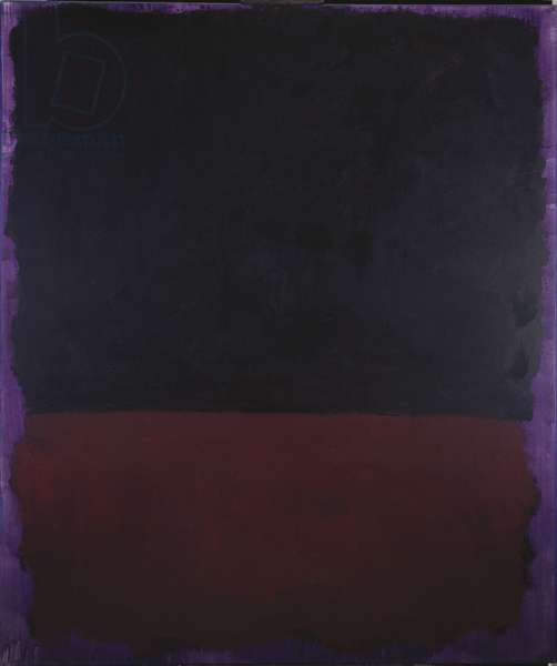Untitled, 1969 (acrylic on paper mounted on board)
