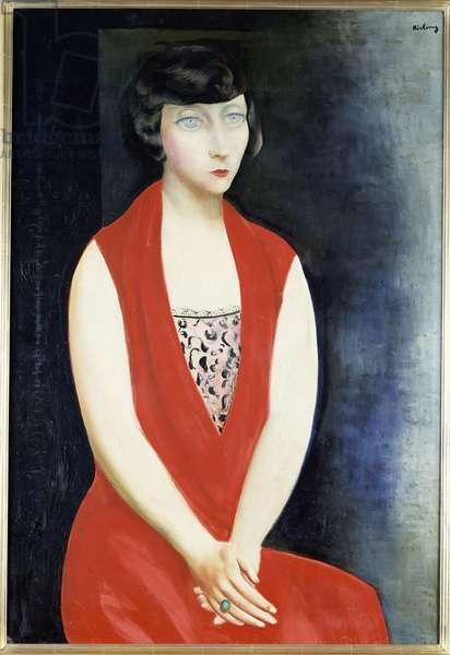 Miss Sylvie, 1927 (oil on canvas)