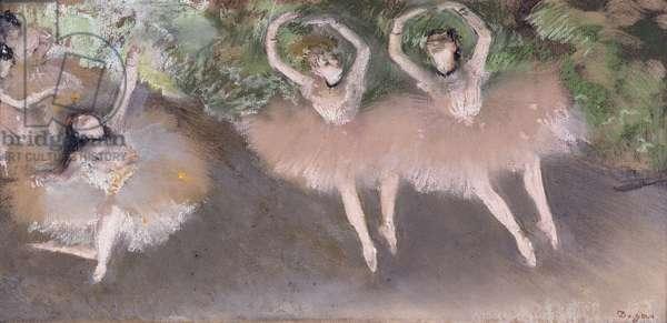 Ballet Scene, c.1879 (pastel over monotype on paper)