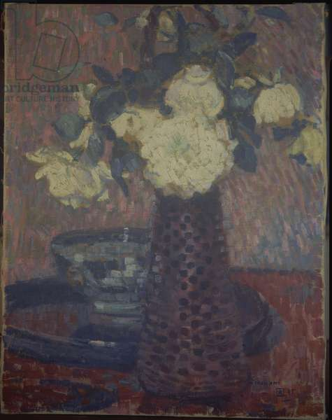 Bouquet of Flowers, 1905 (oil on canvas)