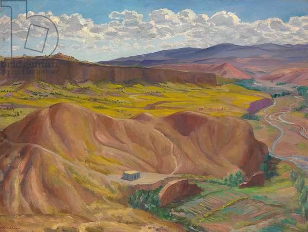 Little Ranch House, 1926 (oil on canvas)