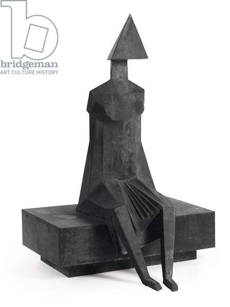 Little Girl, 1987 (bronze with black patina)