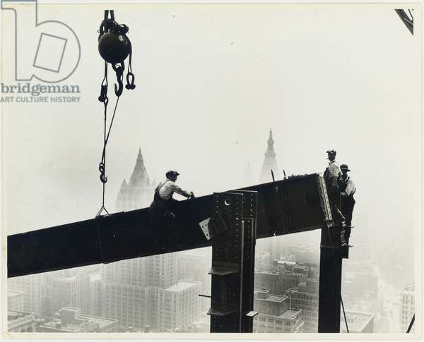 Building the Empire State Building, c.1931 (gelatin silver print)