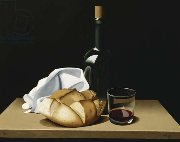The Spanish Loaf, 1972 (oil on canvas)