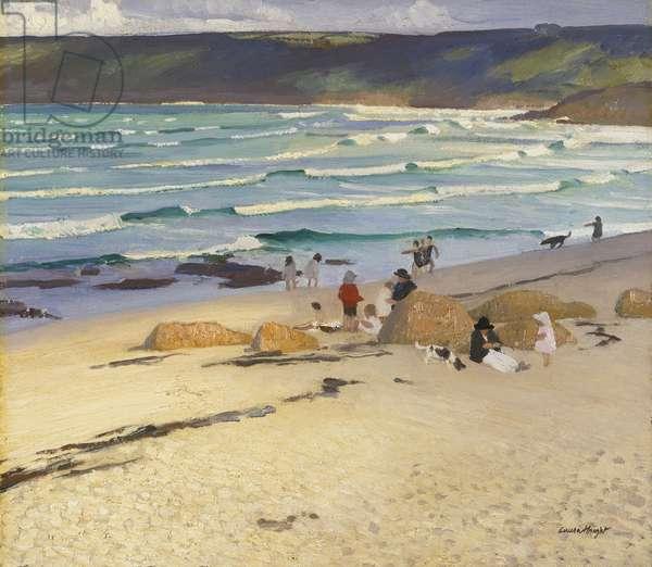 Sennen Cove, Cornwall, 1920 (oil on canvas)