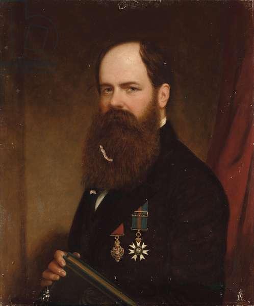 Portrait of Sir Walter Lawry Buller, N.Z.C., K.C.M.G., F.R.S. (oil on canvas)