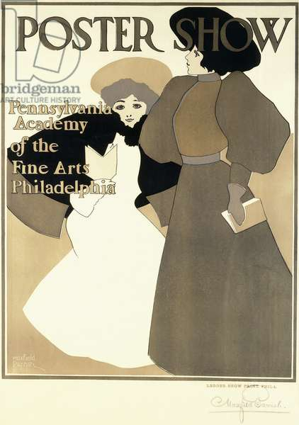 Poster Show,  (lithograph on paper)