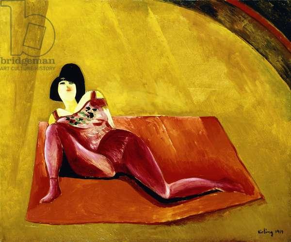 The Acrobat, 1919 (oil on canvas)